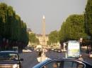 Champs Elysses i Place de la Concorde